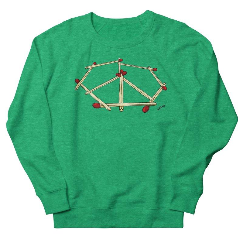Peace matches Women's Sweatshirt by mikbulp's Artist Shop