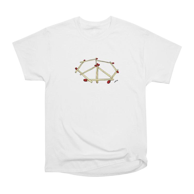 Peace matches Women's Heavyweight Unisex T-Shirt by mikbulp's Artist Shop