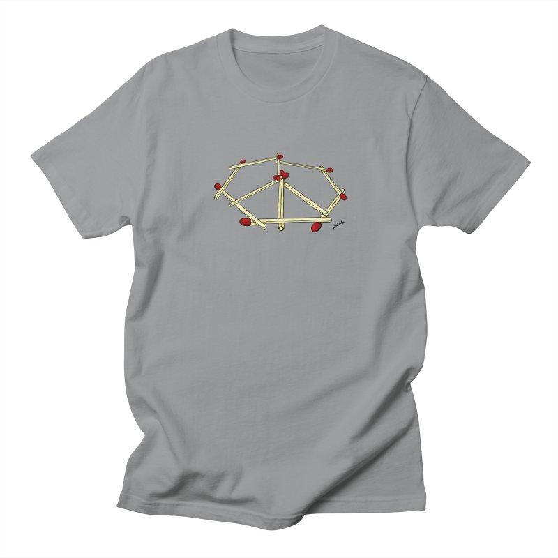 Peace matches Women's Unisex T-Shirt by mikbulp's Artist Shop
