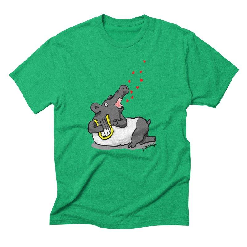 Tapir d'amour Men's Triblend T-Shirt by mikbulp's Artist Shop