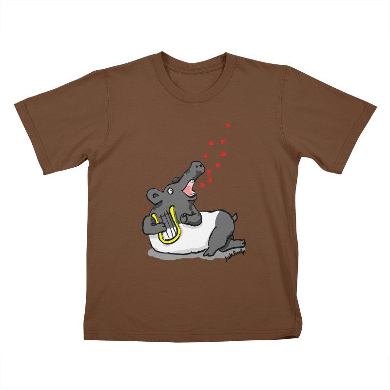 Tapir d'amour Kids T-Shirt by mikbulp's Artist Shop
