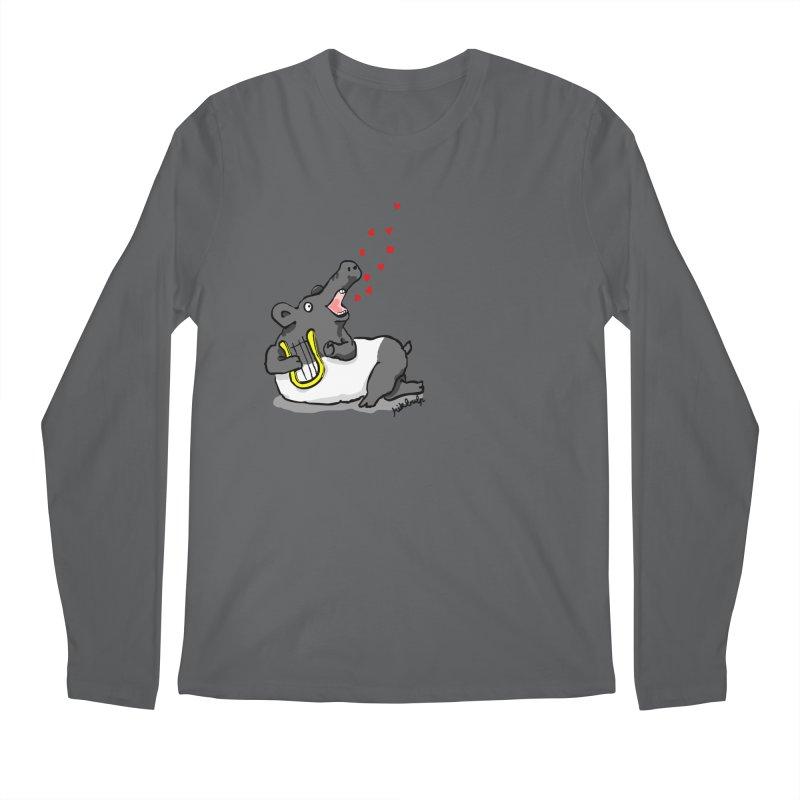 Tapir d'amour Men's Regular Longsleeve T-Shirt by mikbulp's Artist Shop