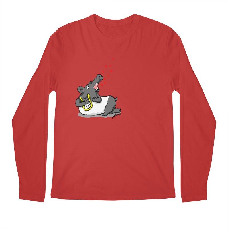 Tapir d'amour Men's Longsleeve T-Shirt by mikbulp's Artist Shop
