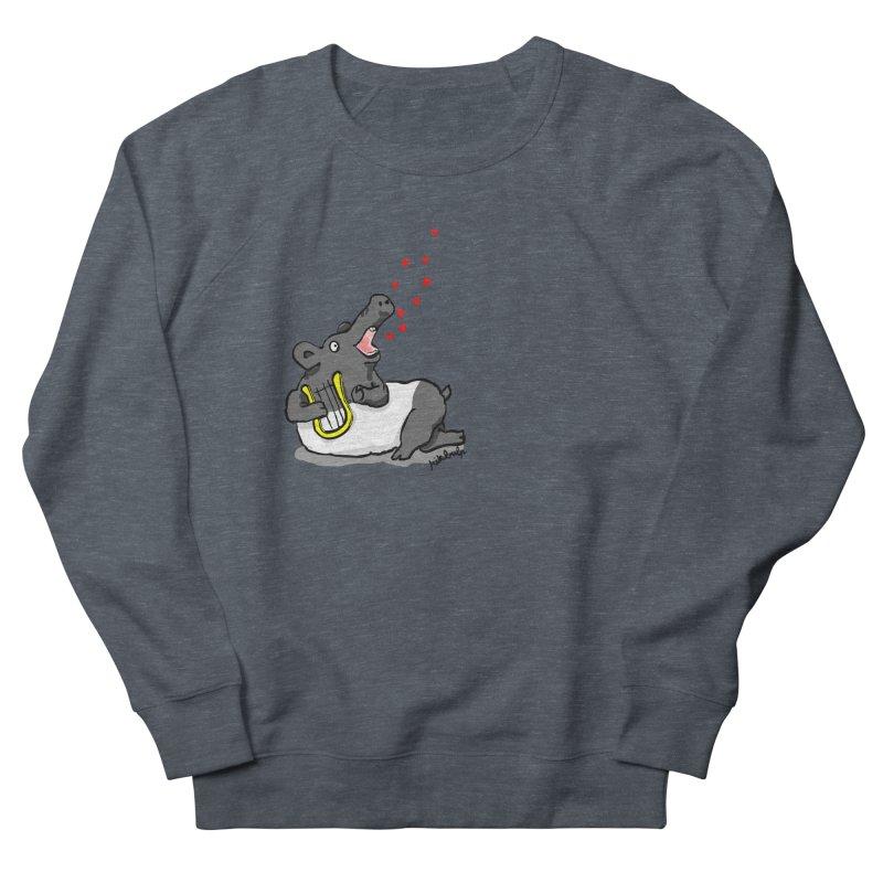 Tapir d'amour Men's French Terry Sweatshirt by mikbulp's Artist Shop