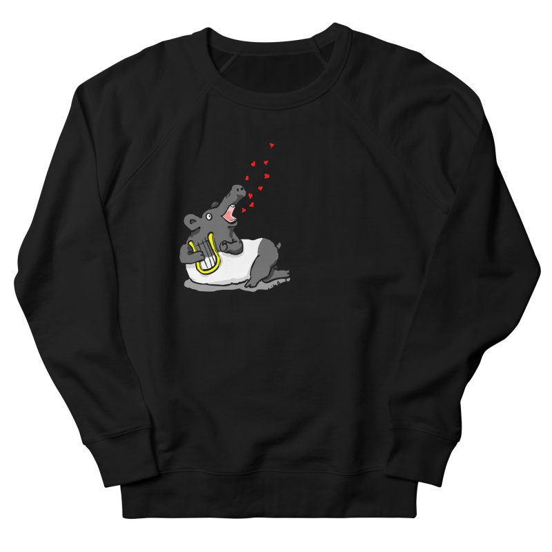 Tapir d'amour Men's French Terry Sweatshirt by mikbulp's Artist Shop
