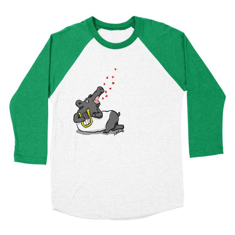 Tapir d'amour Men's Baseball Triblend T-Shirt by mikbulp's Artist Shop