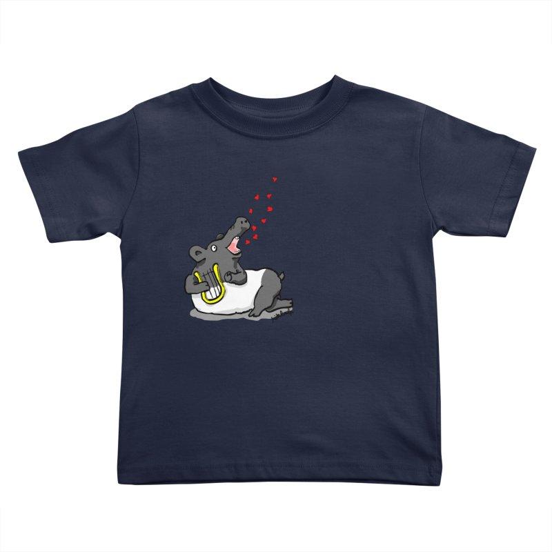 Tapir d'amour Kids Toddler T-Shirt by mikbulp's Artist Shop
