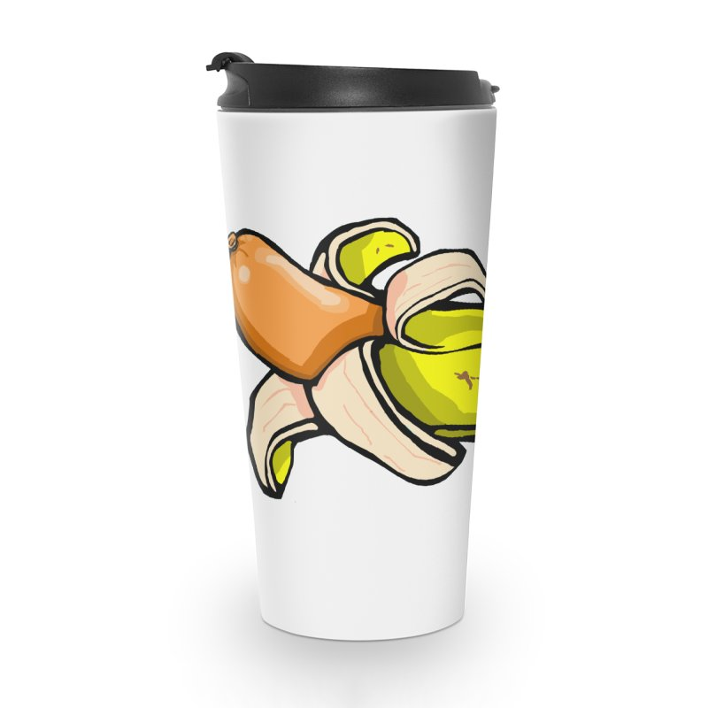 vegan fake Accessories Travel Mug by mikbulp's Artist Shop