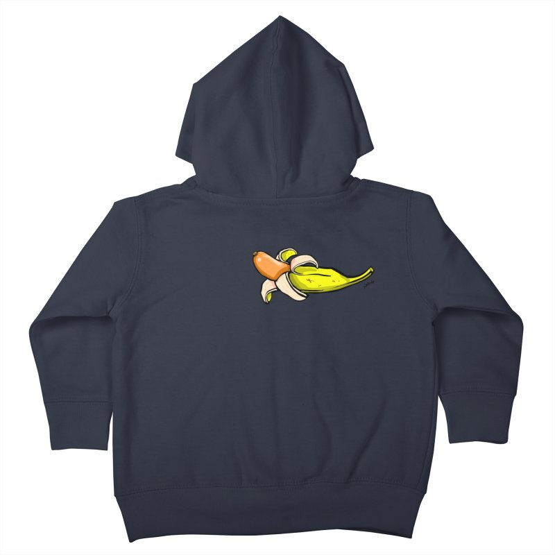 vegan fake Kids Toddler Zip-Up Hoody by mikbulp's Artist Shop