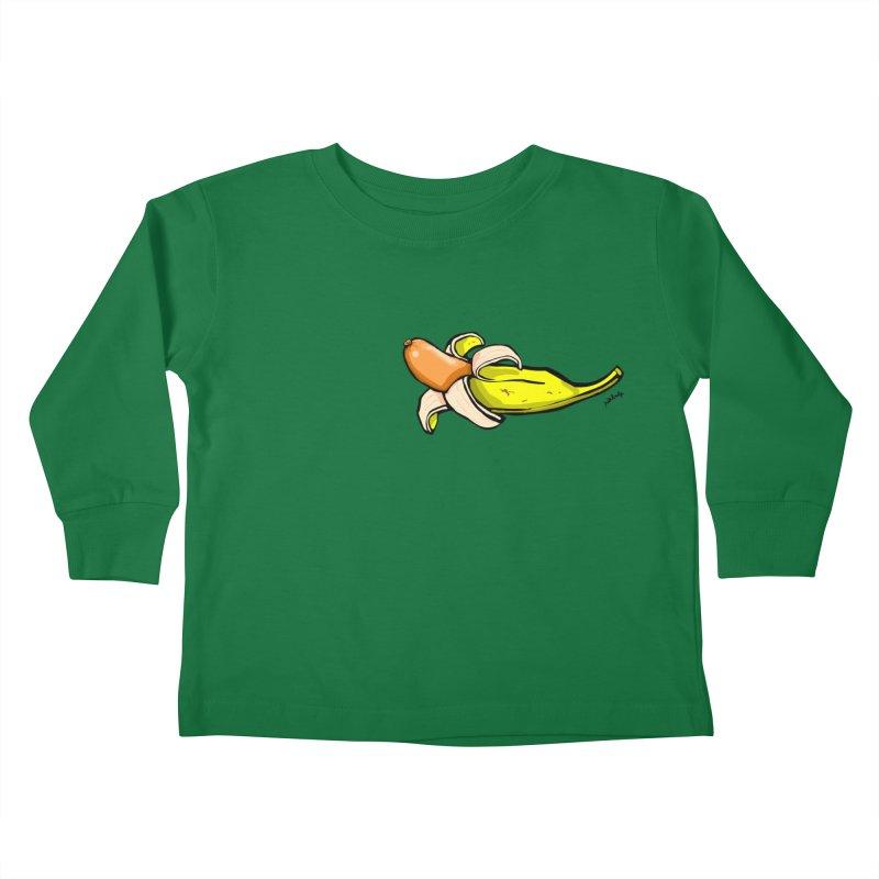 vegan fake Kids Toddler Longsleeve T-Shirt by mikbulp's Artist Shop