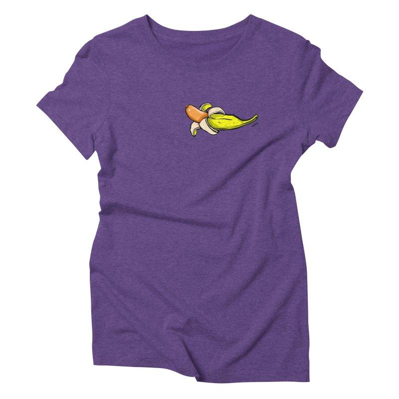 vegan fake Women's Triblend T-Shirt by mikbulp's Artist Shop