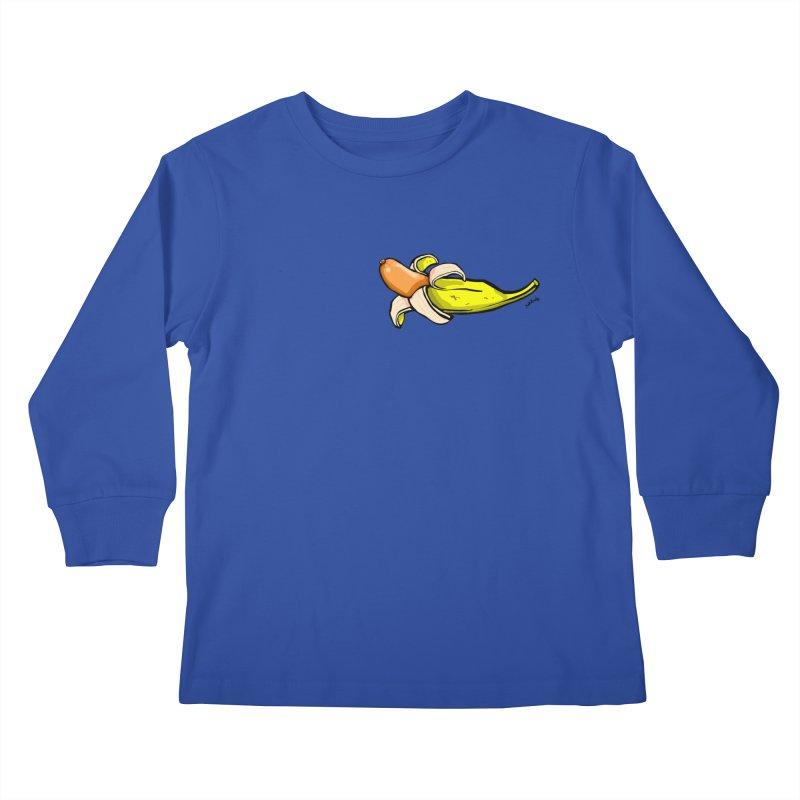 vegan fake Kids Longsleeve T-Shirt by mikbulp's Artist Shop