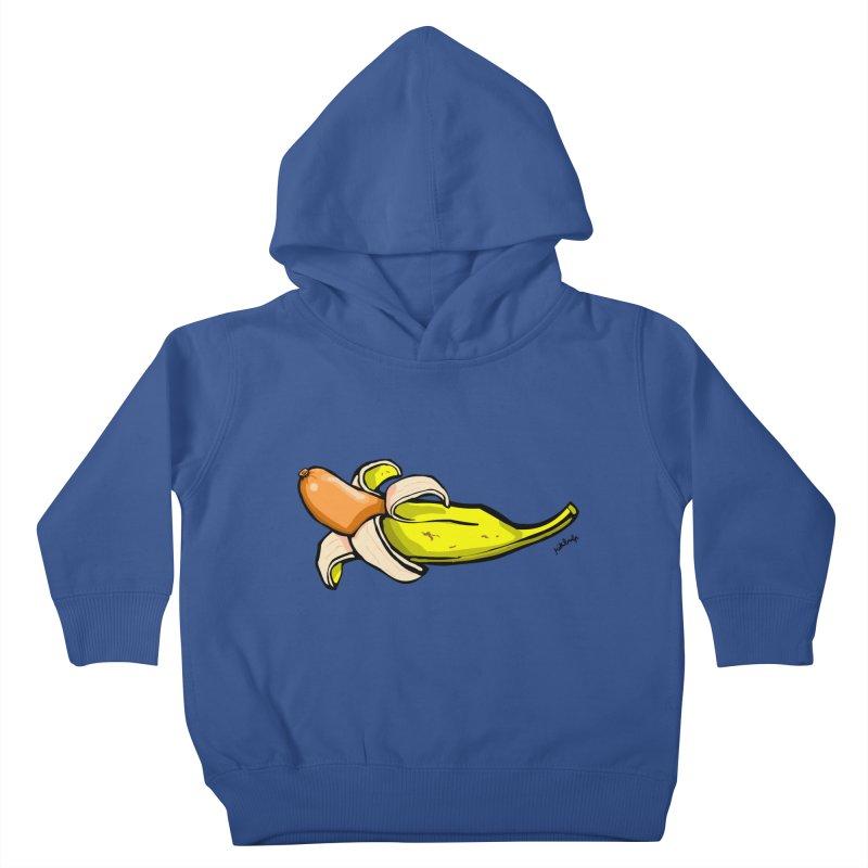 vegan fake Kids Toddler Pullover Hoody by mikbulp's Artist Shop