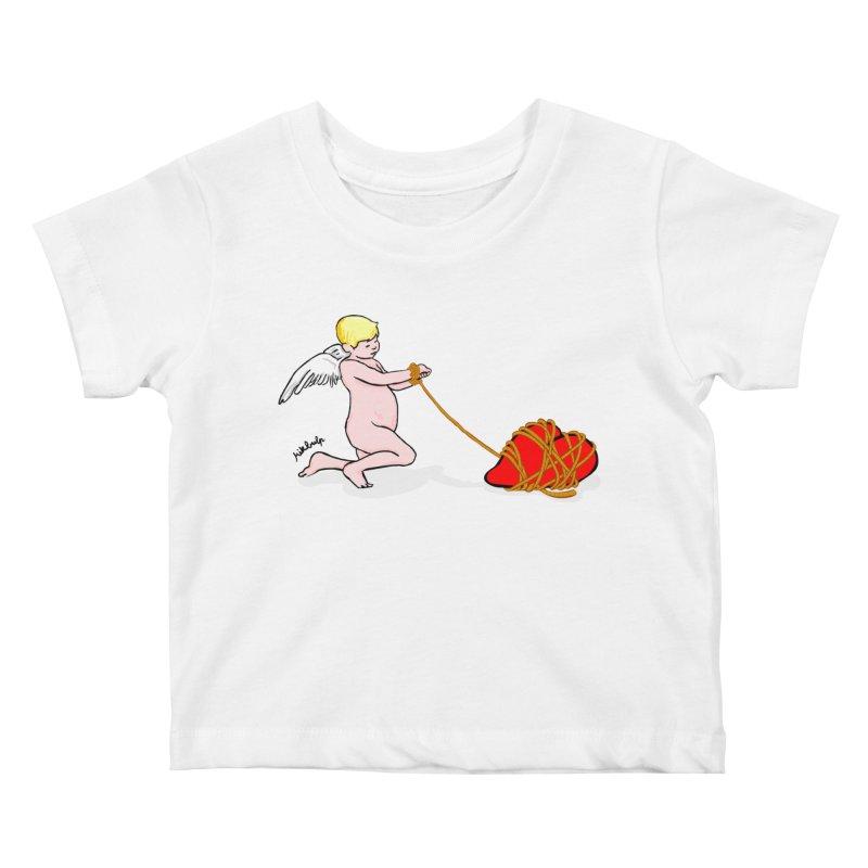 Angelheart Kids Baby T-Shirt by mikbulp's Artist Shop