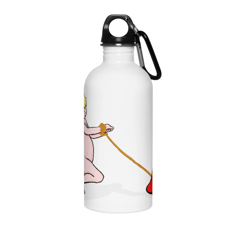 Angelheart Accessories Water Bottle by mikbulp's Artist Shop
