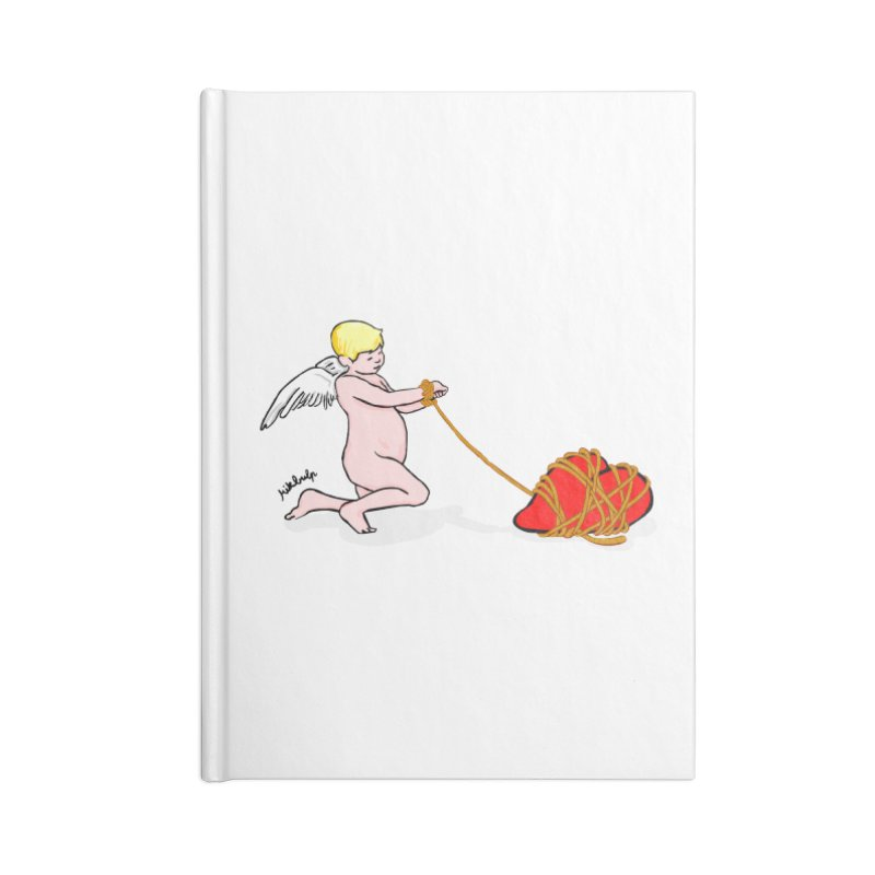 Angelheart Accessories Blank Journal Notebook by mikbulp's Artist Shop