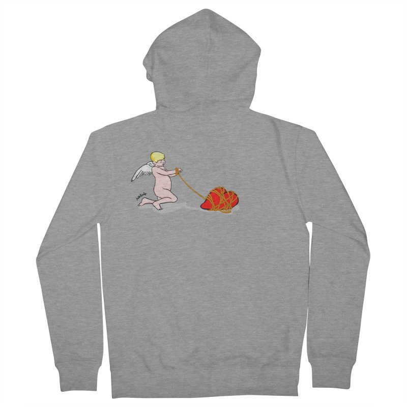 Angelheart Women's French Terry Zip-Up Hoody by mikbulp's Artist Shop