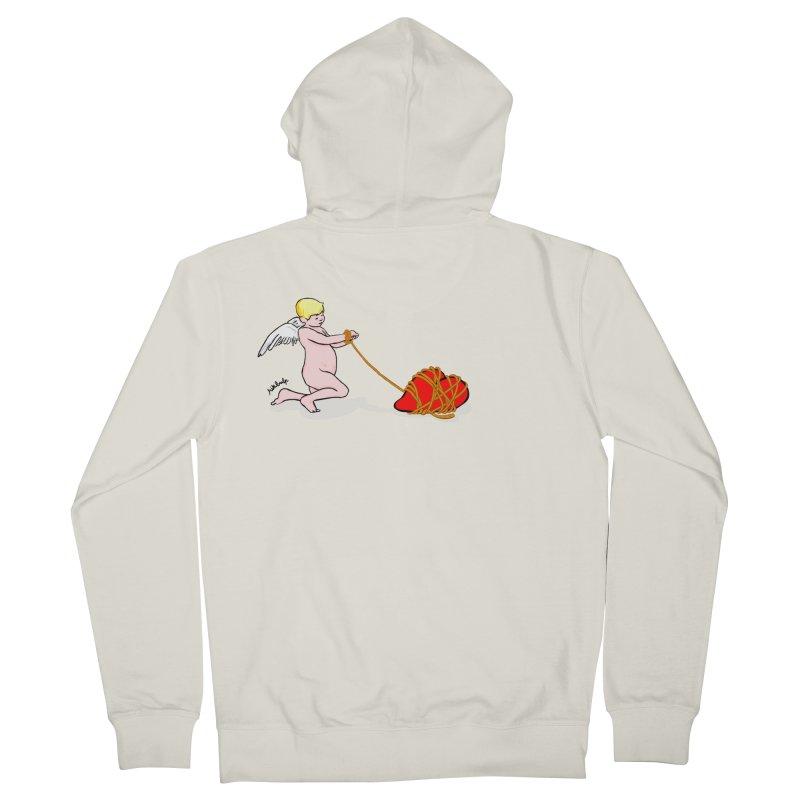 Angelheart Women's Zip-Up Hoody by mikbulp's Artist Shop