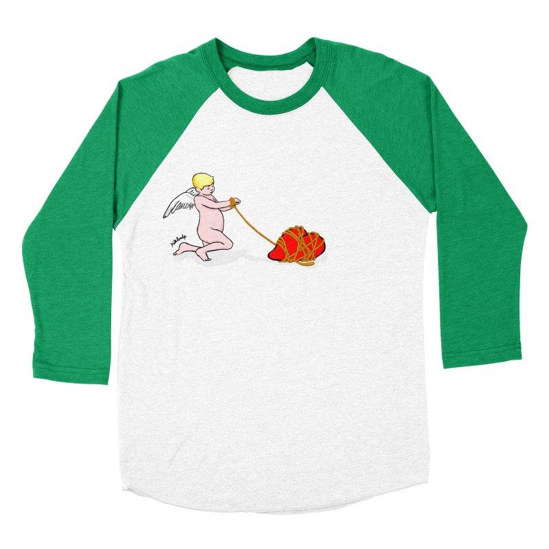 Angelheart Women's Baseball Triblend Longsleeve T-Shirt by mikbulp's Artist Shop
