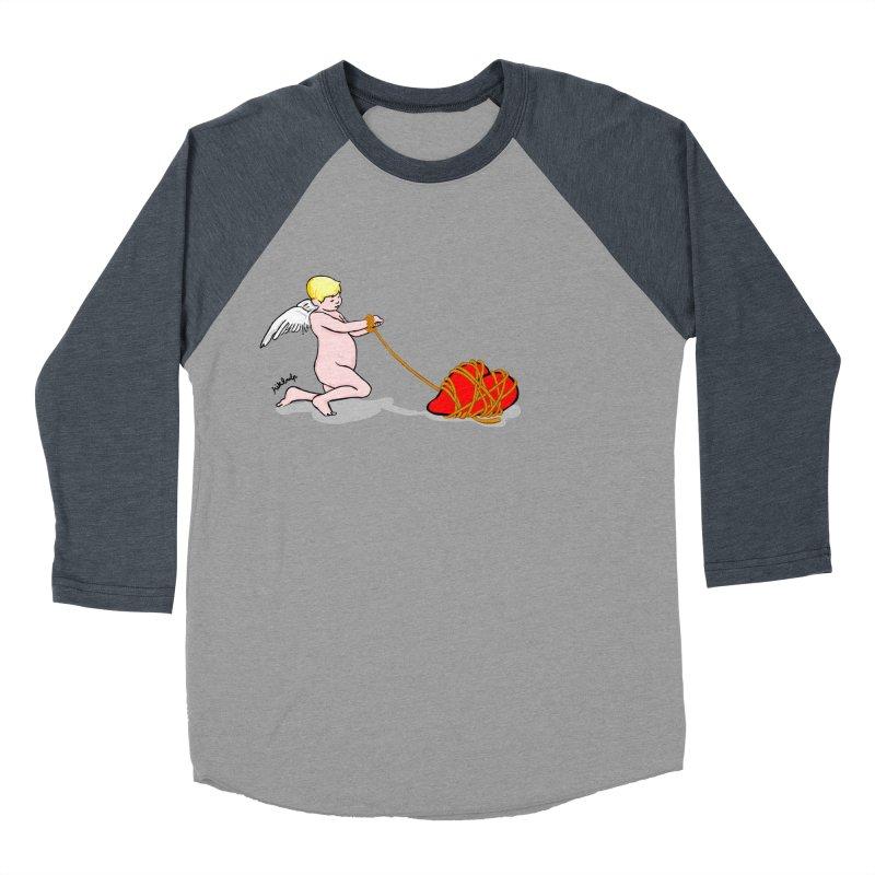 Angelheart Men's Baseball Triblend T-Shirt by mikbulp's Artist Shop