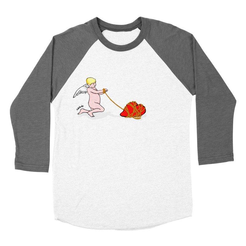 Angelheart Men's Baseball Triblend Longsleeve T-Shirt by mikbulp's Artist Shop