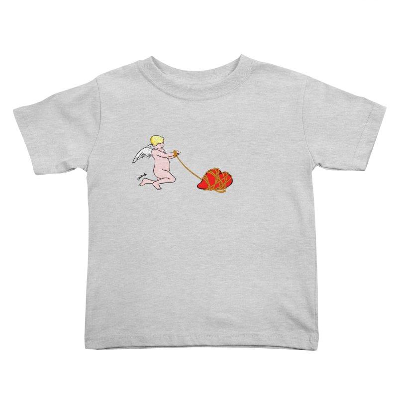 Angelheart Kids Toddler T-Shirt by mikbulp's Artist Shop
