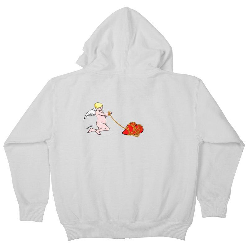 Angelheart Kids Zip-Up Hoody by mikbulp's Artist Shop