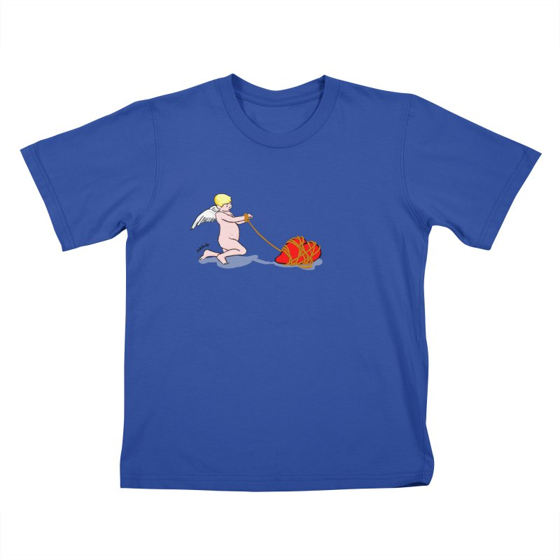 Angelheart Kids T-Shirt by mikbulp's Artist Shop