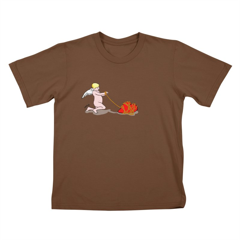Angelheart Kids T-Shirt by mikbulp's Artist Shop