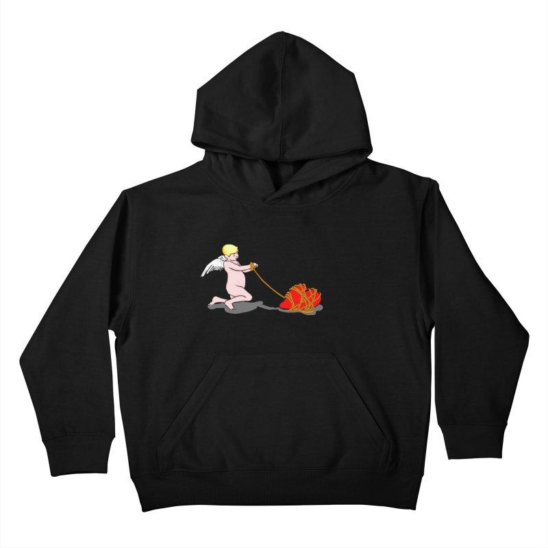 Angelheart Kids Pullover Hoody by mikbulp's Artist Shop