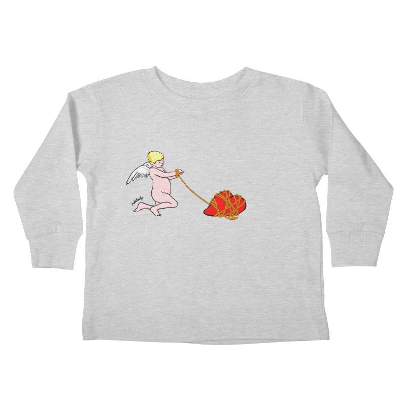 Angelheart Kids Toddler Longsleeve T-Shirt by mikbulp's Artist Shop