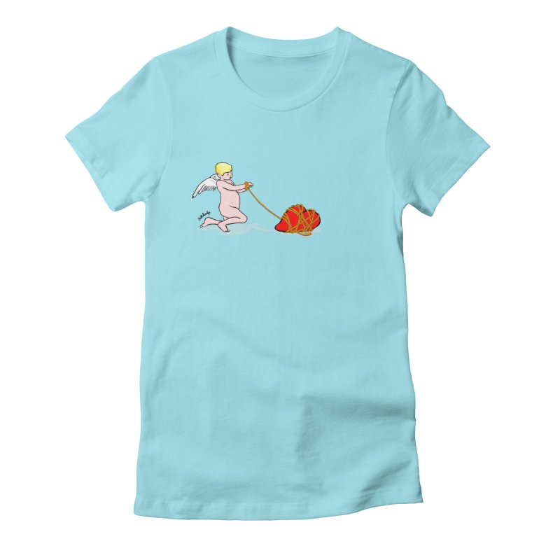 Angelheart Women's Fitted T-Shirt by mikbulp's Artist Shop