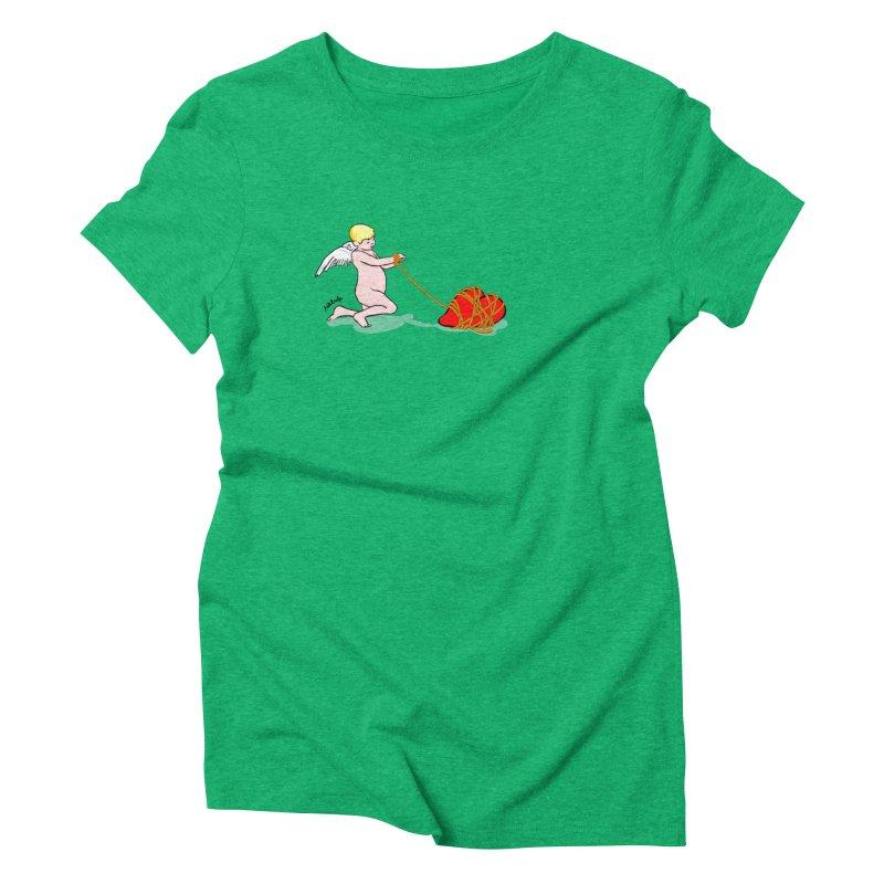 Angelheart Women's Triblend T-Shirt by mikbulp's Artist Shop