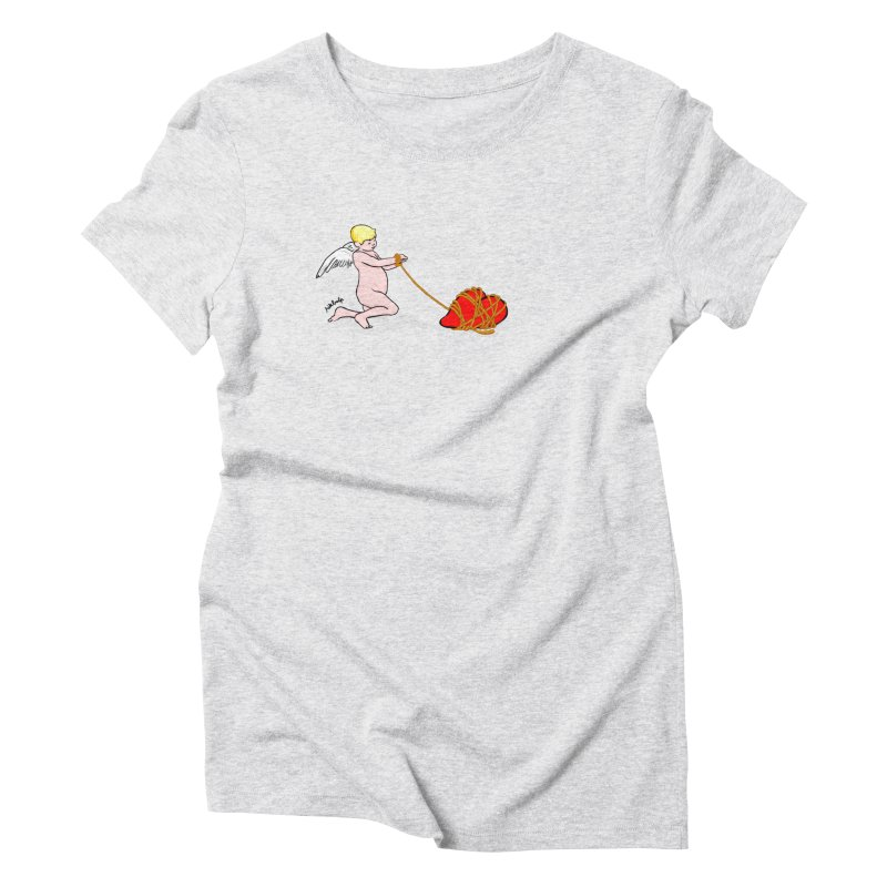 Angelheart Women's Triblend T-Shirt by mikbulp's Artist Shop