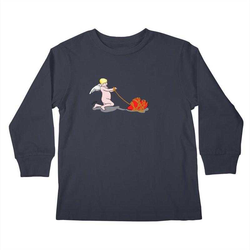 Angelheart Kids Longsleeve T-Shirt by mikbulp's Artist Shop