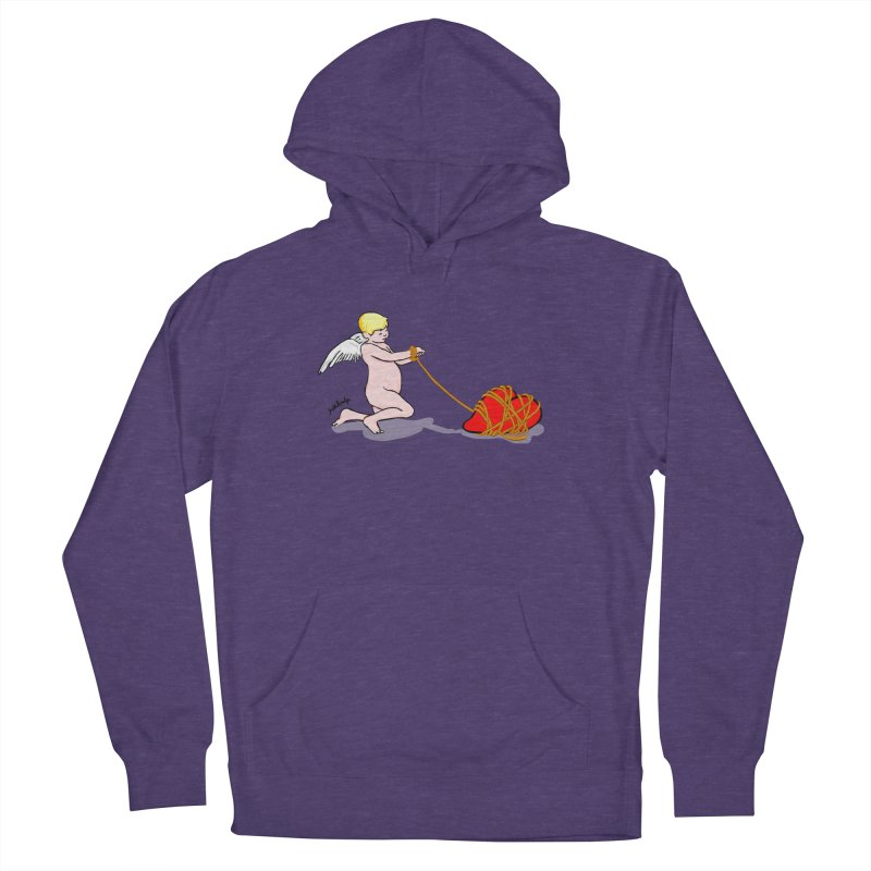 Angelheart Men's French Terry Pullover Hoody by mikbulp's Artist Shop