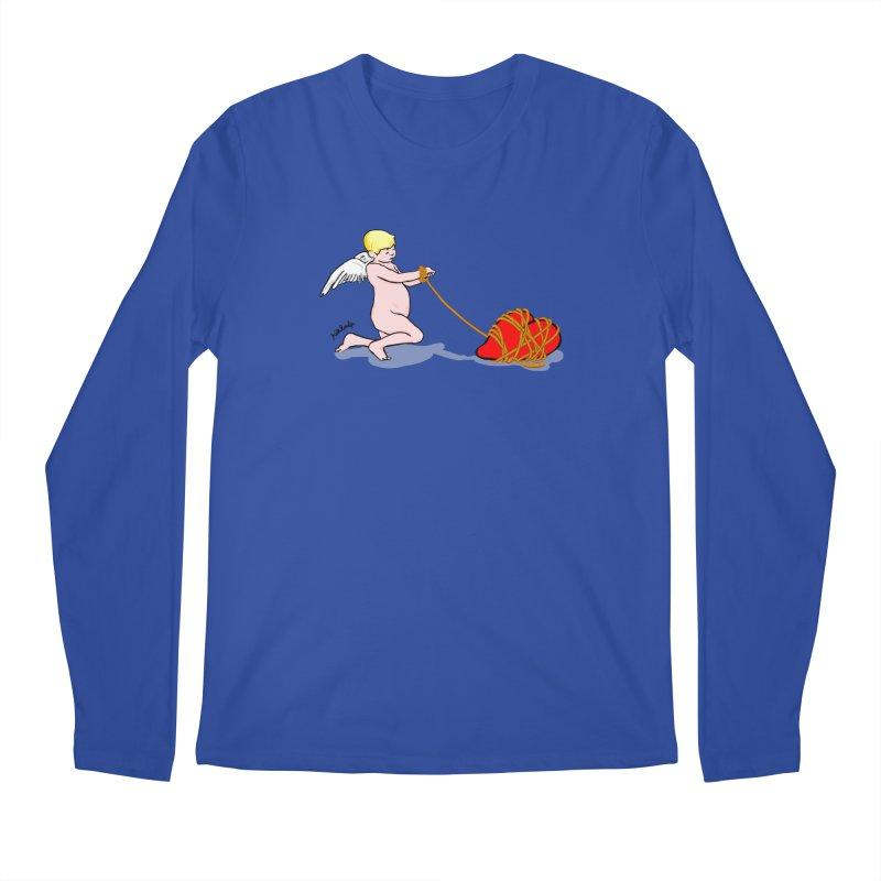 Angelheart Men's Regular Longsleeve T-Shirt by mikbulp's Artist Shop