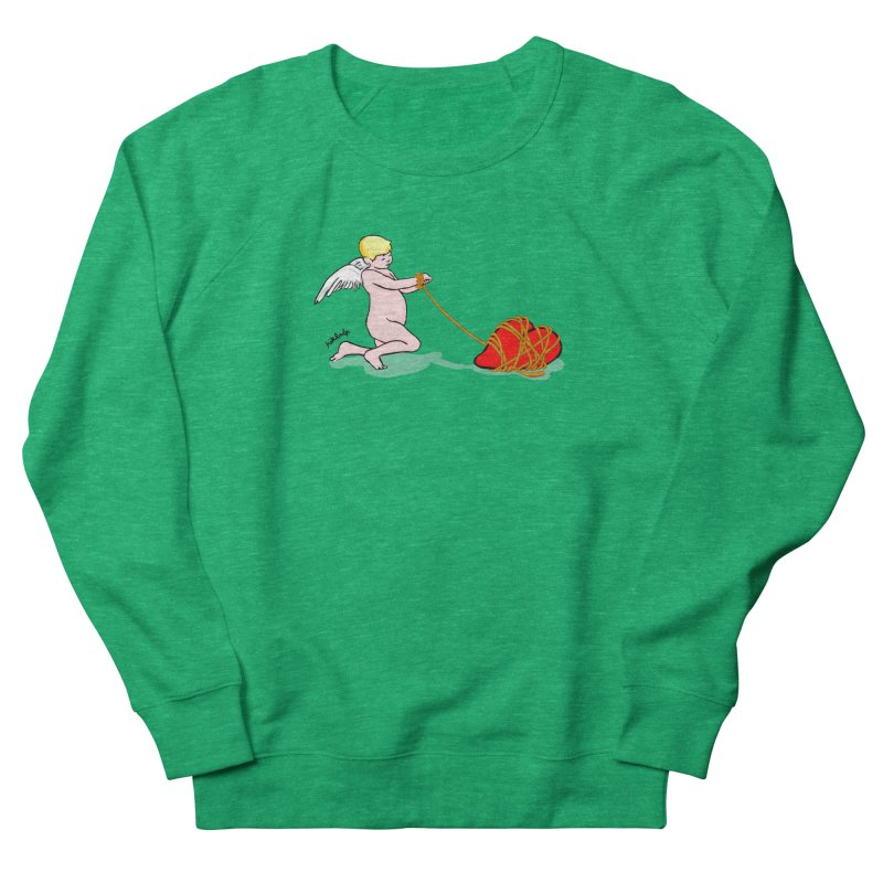 Angelheart Women's French Terry Sweatshirt by mikbulp's Artist Shop