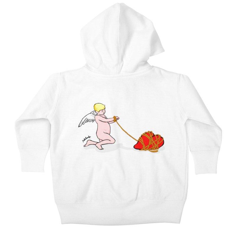 Angelheart Kids Baby Zip-Up Hoody by mikbulp's Artist Shop