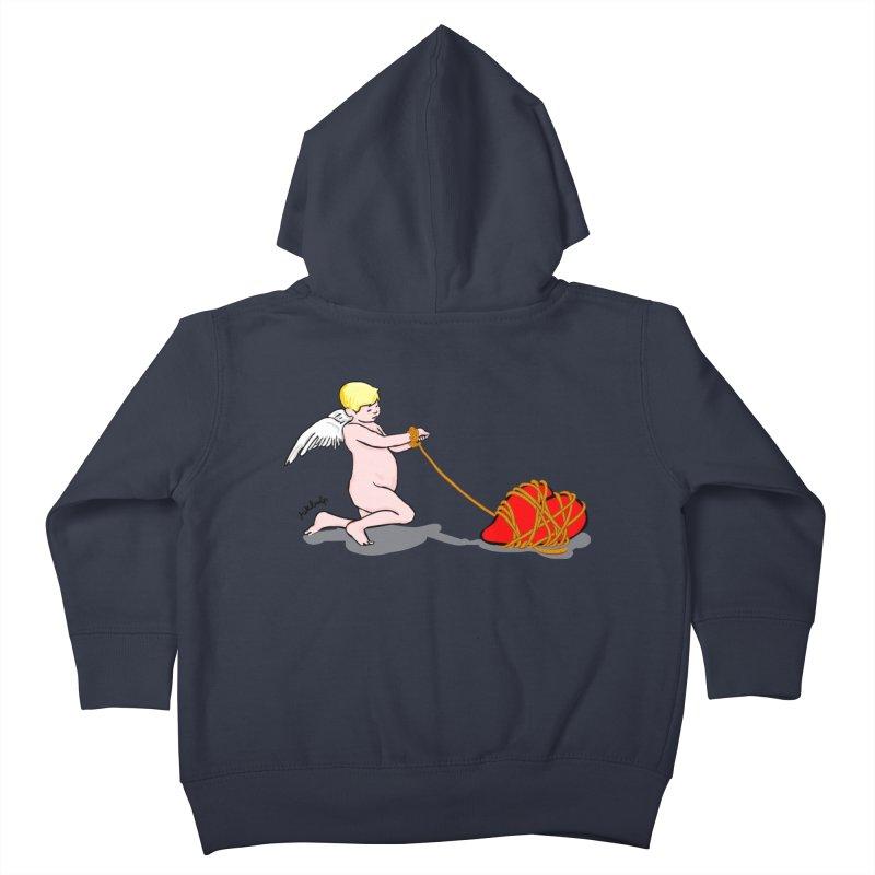 Angelheart Kids Toddler Zip-Up Hoody by mikbulp's Artist Shop