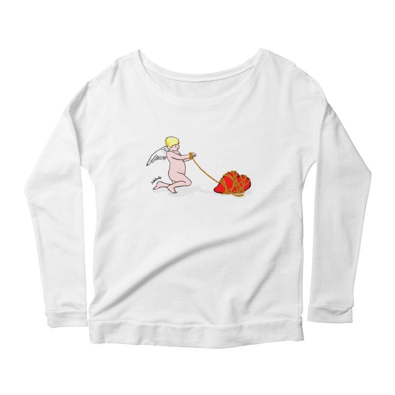Angelheart Women's Scoop Neck Longsleeve T-Shirt by mikbulp's Artist Shop