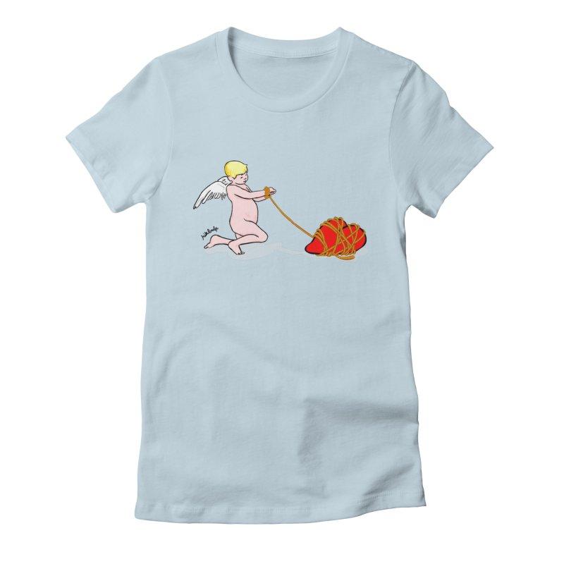 Angelheart Women's Fitted T-Shirt by mikbulp's Artist Shop