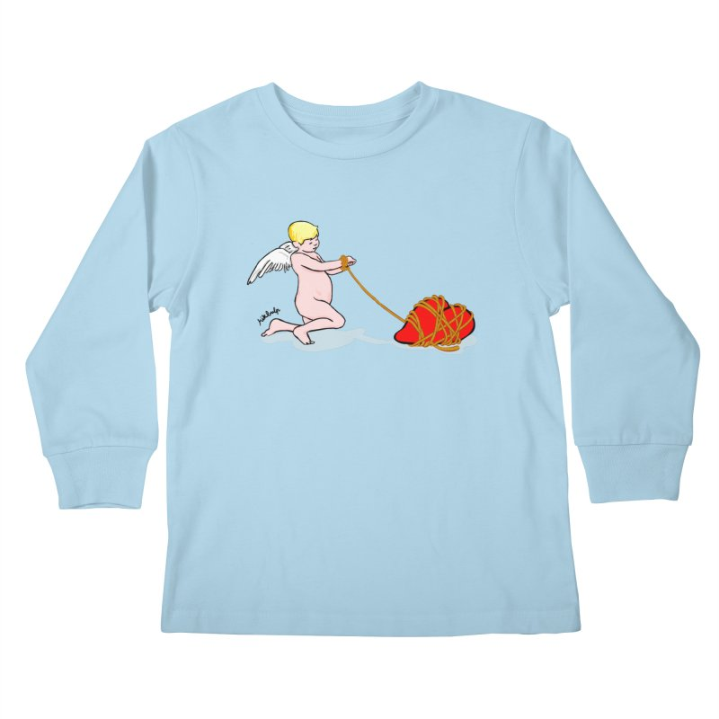 Angelheart Kids Longsleeve T-Shirt by mikbulp's Artist Shop