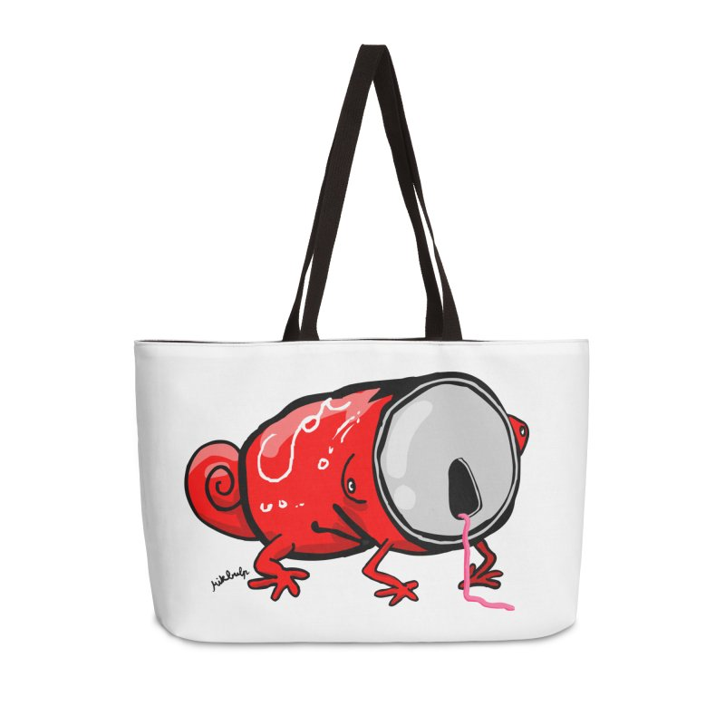 canaeleon Accessories Weekender Bag Bag by mikbulp's Artist Shop