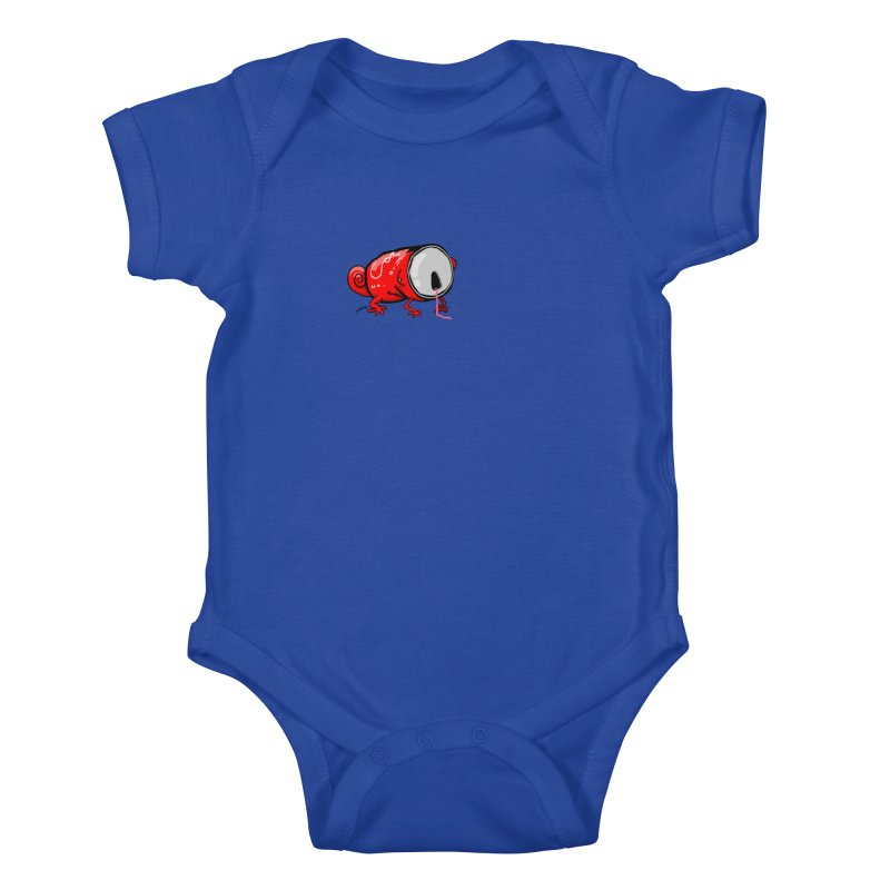 canaeleon Kids Baby Bodysuit by mikbulp's Artist Shop