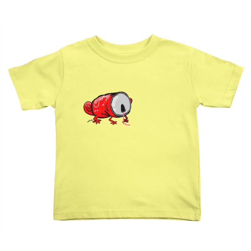 canaeleon Kids Toddler T-Shirt by mikbulp's Artist Shop