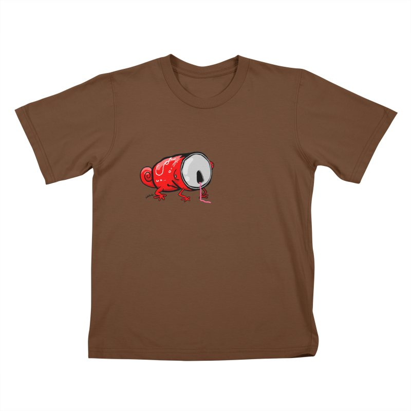 canaeleon Kids T-Shirt by mikbulp's Artist Shop