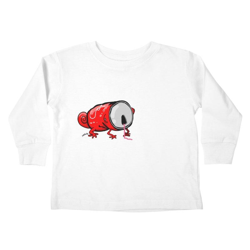 canaeleon Kids Toddler Longsleeve T-Shirt by mikbulp's Artist Shop
