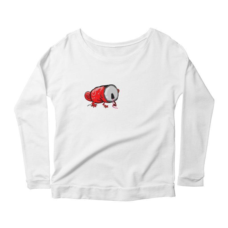 canaeleon Women's Scoop Neck Longsleeve T-Shirt by mikbulp's Artist Shop