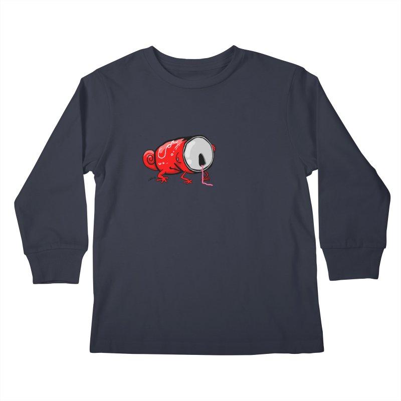 canaeleon Kids Longsleeve T-Shirt by mikbulp's Artist Shop
